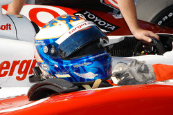 The helmet of Scott Dixon