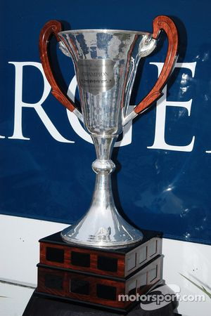 The Cameron Argetsinger trophy for the track to retain