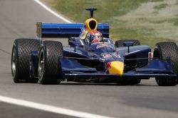 Alex Barron entering turn 9