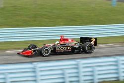 Tomas Scheckter in turn 7