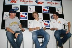 Interview with Buddy Rice, Ryan Briscoe and Patrick Carpentier