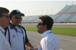 Michael Andretti visite avec Brian Barnhart