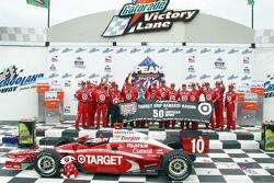 Victory lane: Team Ganassi celebrates its 50th win