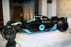 La voiture du Andretti Green Motorola