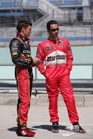 Scott Sharp and Helio Castroneves