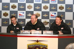 Dan Wheldon, Chip Ganassi and Scott Dixon