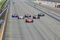 The six former Indy 500 winners who will participate in the 90th running: Helio Castroneves, Eddie Cheever, Buddy Lazier, Buddy Rice, Al Unser Jr. and Dan Wheldon
