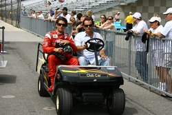 Arie Luyendyk Jr. with dad Arie Luyendyk