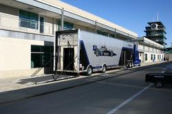 Vision Racing transporter