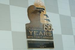 Dedication for Tom Carnegie
