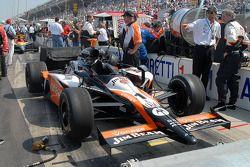 Barry Green surveille la préparation finale de l'équipe de Michael Andretti