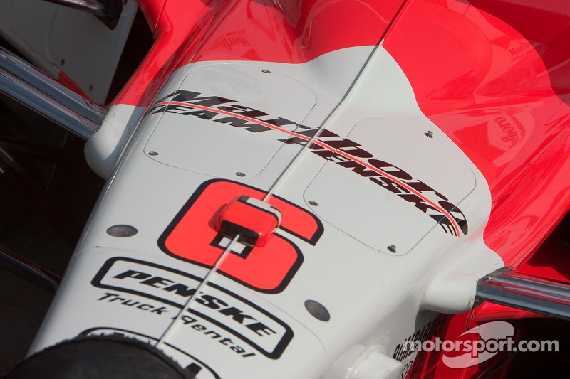 La voiture n°6 Marlboro Team Penske pour Sam Hornish Jr