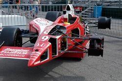La voiture Cutaway Indy, utilisée pars ABC comme un outil pédagogique lors de la télédiffusion