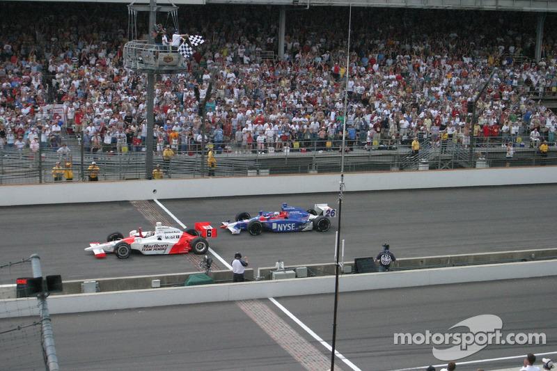 2006: Sam Hornish Jr. siegt auf letzten Metern gegen Marco Andretti