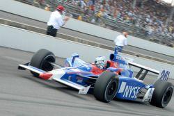 Marco Andretti en pitlane