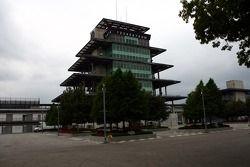 Le Bombardier Pagoda sur le Indianapolis Motor Speedway