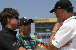 Michael Andretti, Tony Kanaan and Kim Green