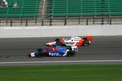Marco Andretti and Sam Hornish Jr.