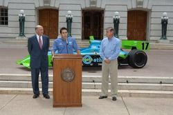Press conference with Wisconsin Governor Jim Doyle and Jeff Simmons