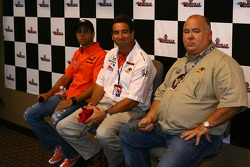 Panther Racing press conference