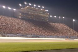 The capacity crowd at Nashville Superspeedway
