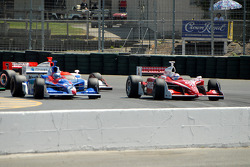 Marco Andretti and Scott Dixon pace the field