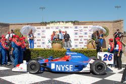 Podium ceremonies begin for Marco Andretti