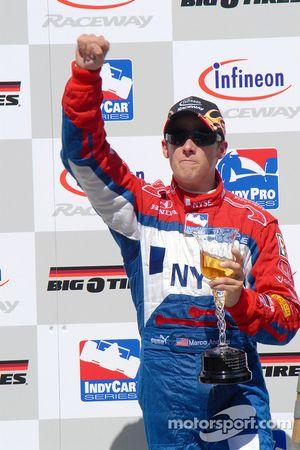 No Sonoma wine but sparkling cider for Marco Andretti