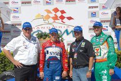 Kevin Savoree, Marco Andretti, Michael Andretti and Kim Green
