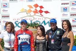 Sandy, Marco, Marissa and Michael Andretti and Jodi Ann Paterson