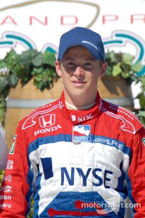 Le vainqueur Marco Andretti