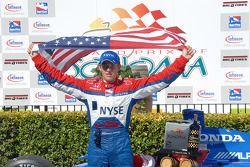 Race winner Marco Andretti