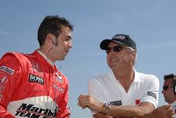 Sam Hornish Jr. and Rick Mears