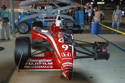 Cutaway of Scott Dixon's car