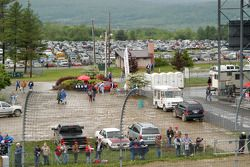Parking lot outside the main grandstands