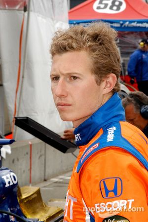Ryan Briscoe made it to the Glen to race this time