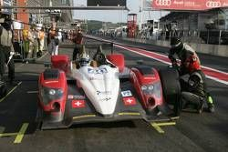 Pitstop #40 Race Performance Oreca 03-Judd BMW: Michel Frey, Ralph Meichtry