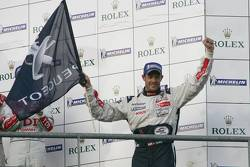 LMP1 podium: class and overall winner Alexander Wurz