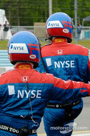 Andretti team members
