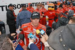 Scott Dixon interviews