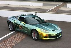 Two-time Indianapolis 500 champion Emerson Fittipaldi will drive this Pace Car during the pace laps of the 92nd Indianapolis 500