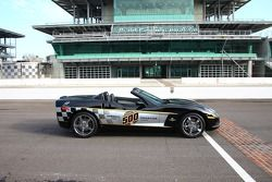 In addition to the exterior color scheme, the anniversary models are equipped with a special, two-tone titanium-color interior, with the Indianapolis 500 logo embroidered on the seats