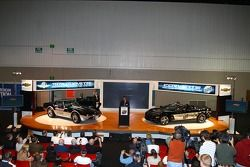 The 1978 Corvette Pace Car, left, and the 30th anniversary commemorative edition Corvette Pace Car for the 2008 Indianapolis 500