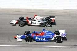 Tomas Scheckter and Marco Andretti