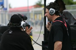 Kim Green and Michael Andretti