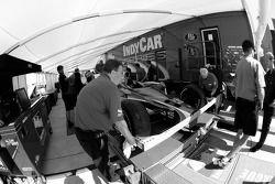 Voiture Vision Racing au contrôle technique