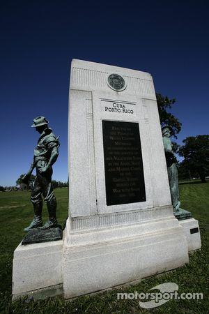Un des nombreux monuments sur Belle-Isle
