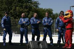 présentation des pilotes: Buddy Rice et son équipe