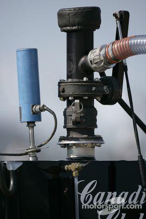 Andretti Green Racing refuel equipment