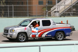 Honda safety team truck